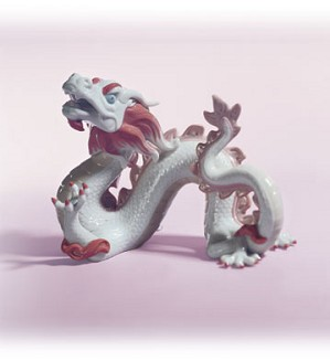 Lladro-The Dragon 2000 Zodiac Figure