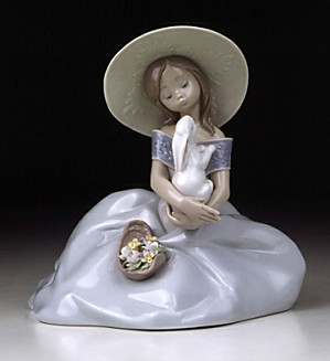 Lladro-Bunny Kisses 2001 Event