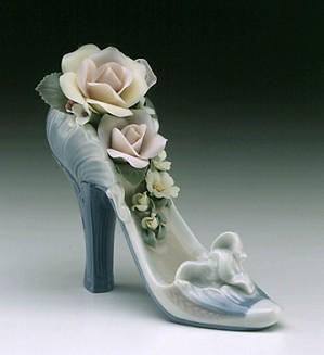 Lladro-Stepping Into Spring 2001 Only