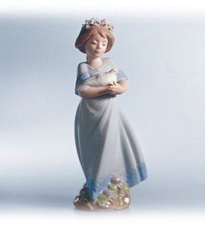 Retired Lladro-Peaceful