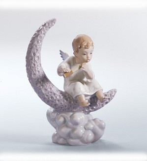 Retired Lladro-Exploring The Stars