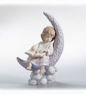 Retired Lladro-Dreaming Of The Stars