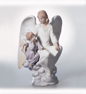 Lladro-Heavenly Apprentice