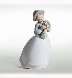 Retired Lladro-Blossom Time