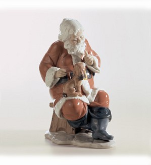 Lladro-Santa's Little Secret 2002-13