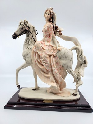 Giuseppe Armani-Lady On Horse       Retire 2002