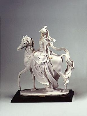 Giuseppe Armani-Lady On Horse Retire 04