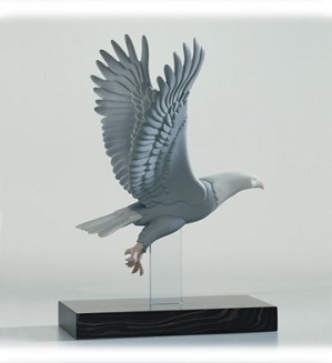 Lladro-Flight Movement Flight Eagle 2003-08