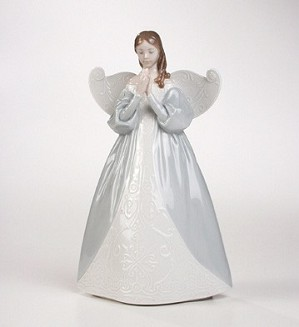 Retired Lladro-Celestial Scent (tree Topper)