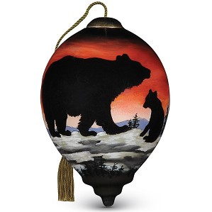 Betty Padden-Bear Cub Silhouette