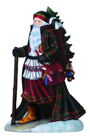 Pipka-Mikulus Santa Figurine