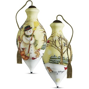 Susan Winget-Woodland Friends Snowman