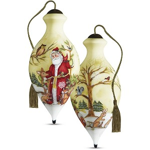 Susan Winget-Woodland Friends Santa