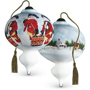 Susan Winget-Colonial Snowmen
