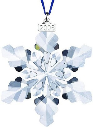 Swarovski Crystal-Annual 2008 Ornament