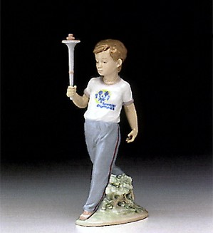 Retired Lladro-Courage (special Olympic) 1993-96