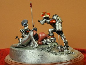 Disney Chilmark-Foursome Follies Pewter