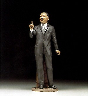 Retired Lladro-Dr Martin Luther King Jr