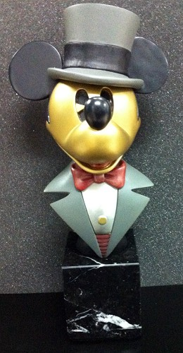 Disney Chilmark-Mickey Puttin On The Ritz Metal Art