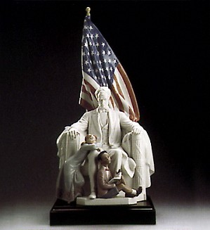Lladro-Abraham Lincoln