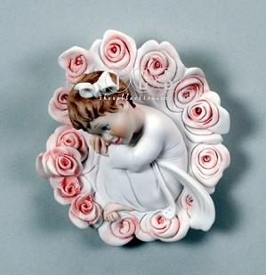 Giuseppe Armani-Mum's Rose - Plaque