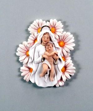 Giuseppe Armani-Madonna Of The Daisies - Plaque