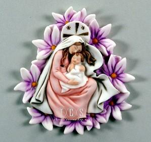 Giuseppe Armani-Madonna Of The Violets - Plaque