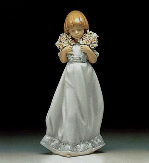 Lladro-Spring Bouquets 1987-87 Society Piece 1987