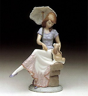 Lladro-Picture Perfect 5th Anv. Society 1990