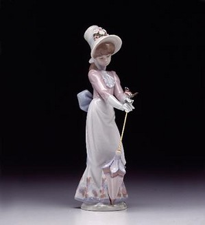 Lladro-Garden Song 1992-92