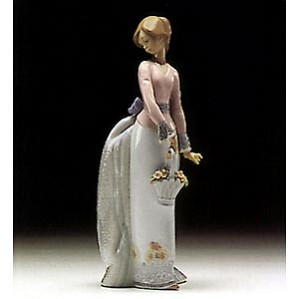 Lladro-Basket Of Love 1994 Society