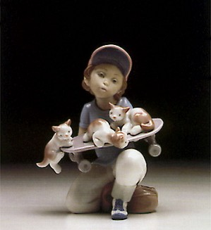 Lladro-Little Riders