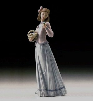 Lladro-Innocence In Bloom 1996 Society