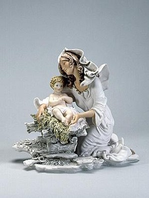 Giuseppe Armani-Madonna & Christ    Child-Retire 2002