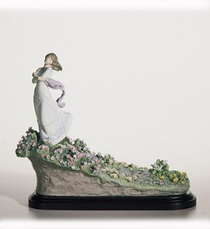 Lladro-A SEA OF FLOWERS 2006-11