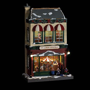 Gold Label-Deluxe Animated Village Stores - Toy Store