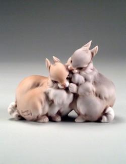 Giuseppe Armani-Two Rabbits