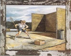 Ernie Barnes-Practice Wall