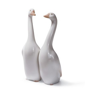 Lladro-Geese