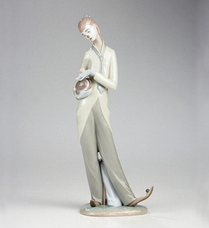 Lladro-Romantic Clown