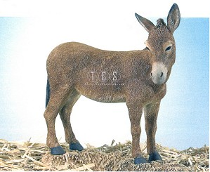 Ebony Visions-The Nativity Donkey