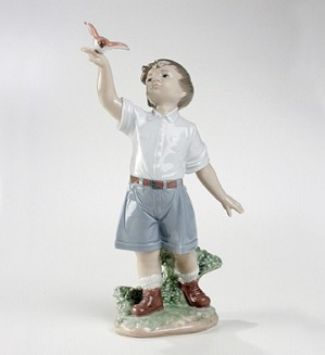 Lladro-Flying Free