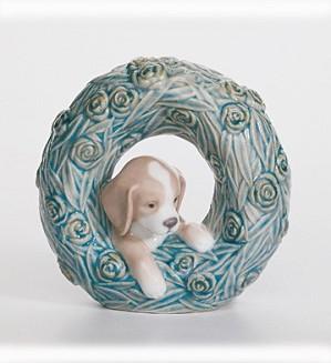 Lladro-Puppy Natural Frames