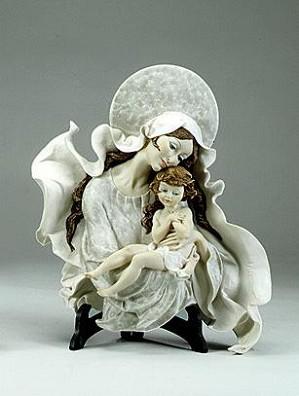 Giuseppe Armani-Madonna With Child - Plaque