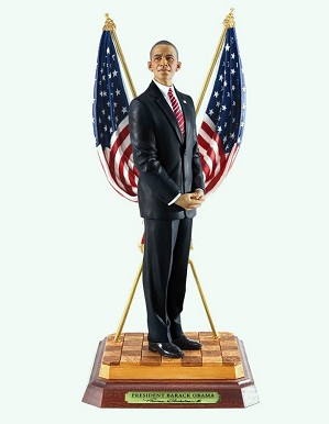 Ebony Visions-President Barack Obama Limited Edition OPEN BOX