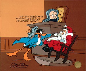 Chuck Jones-Santa On Trial