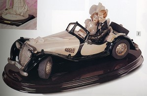 Giuseppe Armani-Just Married Wedding On Wheels-  Retired-Le 5000