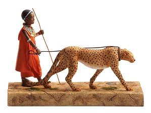 Ebony Visions-Cheetah Walker Gallery Proof