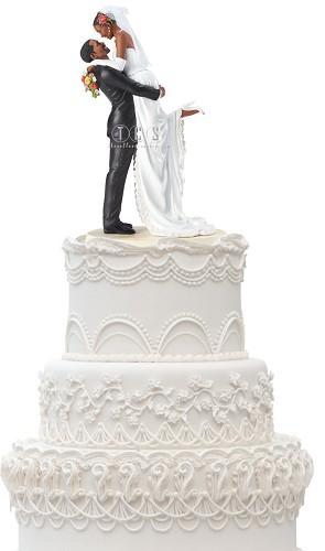 Ebony Visions-Forever One Cake Topper