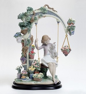 Lladro-SWING INTO SPRING